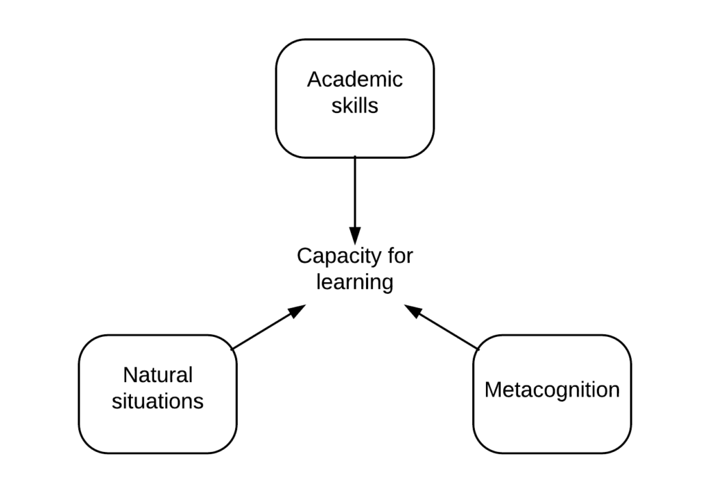illustrating the capacity to learn